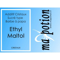 Additif Ethyl Maltol Cristaux, sucre vos Eliquide