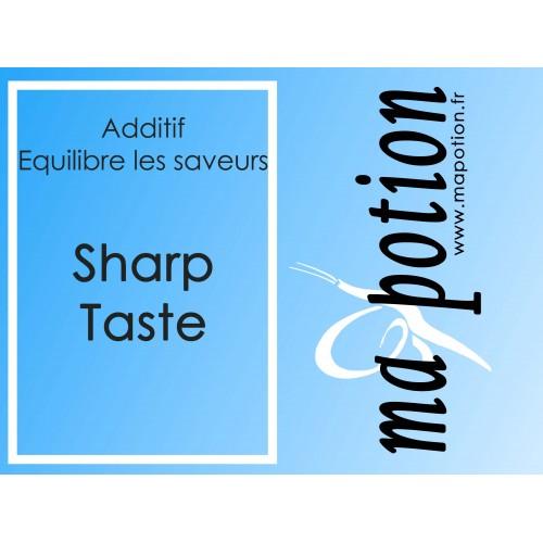 Additif SHARP TASTE amméliore et équilibre les saveurs, pour Eliquide