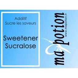 Additif SWEETENER Sucralose sucre vos arôme et adouci les saveurs amer, pour Eliquide