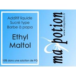 Additif Ethyl Maltol 10% PG sucre vos Eliquide Sans nicotine ni tabac