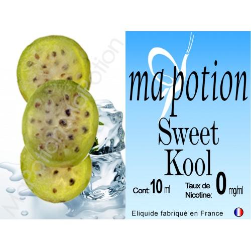 E-Liquide saveur Sweet Kool, Eliquide Français, recharge liquide pour cigarette électronique, Ecig
