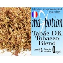 E-Liquide TABAC DK Tobacco Blend, Eliquide Français, recharge liquide pour cigarette électronique, Ecig