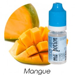 E-Liquide Fruit Mangue, Eliquide Français, recharge liquide pour cigarette électronique, Ecig