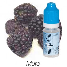 E liquide Français Fruit Mure, 0 6 12 18 mg/ml, recharge pour cigarette électronique