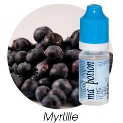 E liquide Français Fruit Myrtille, 0 6 12 18 mg/ml, recharge pour cigarette électronique