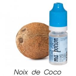 E liquide Français Fruit Noix de coco, 0 6 12 18 mg/ml, recharge pour cigarette électronique