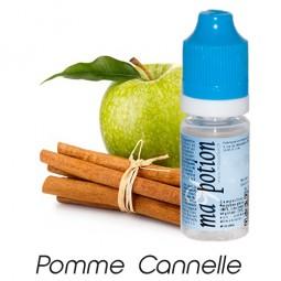 E liquide Français Fruit Pomme Cannelle, 0 6 12 18 mg/ml, recharge pour cigarette électronique