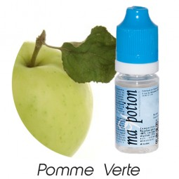 E liquide Français Fruit Pomme Verte, 0 6 12 18 mg/ml, recharge pour cigarette électronique