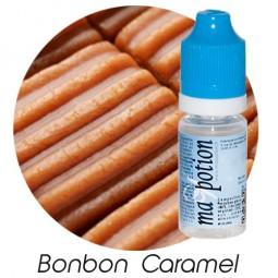 E liquide Français Saveur Bonbon Caramel, 0 6 12 18 mg/ml, recharge pour cigarette électronique