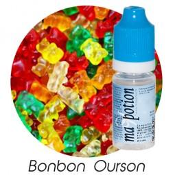 E liquide Français Saveur Bonbon ourson, 0 6 12 18 mg/ml, recharge pour cigarette électronique