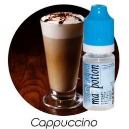 E liquide Français Saveur Cappuccino, 0 6 12 18 mg/ml, recharge pour cigarette électronique