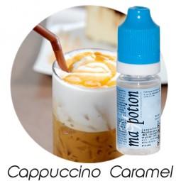 E liquide Français Saveur Cappuccino Caramel, 0 6 12 18 mg/ml, recharge pour cigarette électronique