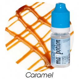 E liquide Français Saveur Caramel, 0 6 12 18 mg/ml, recharge pour cigarette électronique