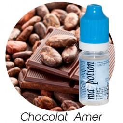 E liquide Français Saveur Chocolat Amer, 0 6 12 18 mg/ml, recharge pour cigarette électronique