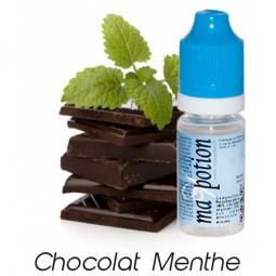 E liquide Français Saveur Chocolat Menthe, 0 6 12 18 mg/ml, recharge pour cigarette électronique