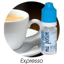 E liquide Français Saveur Expresso, 0 6 12 18 mg/ml, recharge pour cigarette électronique