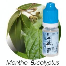 E liquide Français Saveur Menthe Eucalyptus, 0 6 12 18 mg/ml, recharge pour cigarette électronique
