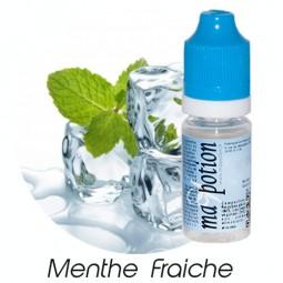 E liquide Français Saveur Menthe Fraîche, 0 6 12 18 mg/ml, recharge pour cigarette électronique