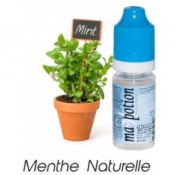 E liquide Français Saveur Menthe Naturelle, 0 6 12 18 mg/ml, recharge pour cigarette électronique