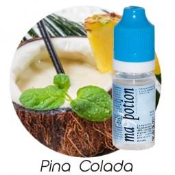 E liquide Français Saveur Pina colada, 0 6 12 18 mg/ml, recharge pour cigarette électronique