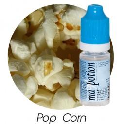 E liquide Français Saveur Pop Corn, 0 6 12 18 mg/ml, recharge pour cigarette électronique