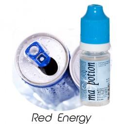 E liquide Français Saveur Red Energy, 0 6 12 18 mg/ml, recharge pour cigarette électronique