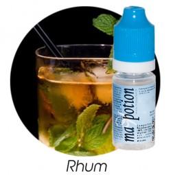 E liquide Français Saveur Rhum, 0 6 12 18 mg/ml, recharge pour cigarette électronique