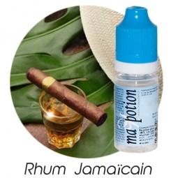 E liquide Français Saveur Rhum Jamaïcain, 0 6 12 18 mg/ml, recharge pour cigarette électronique