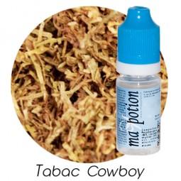 E liquide Français TABAC Cowboy, 0 6 12 18 mg/ml, recharge pour cigarette électronique