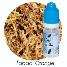 E liquide Français TABAC Orange, 0 6 12 18 mg/ml, recharge pour cigarette électronique
