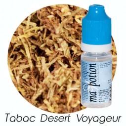 E liquide Français TABAC Desert Voyager, 0 6 12 18 mg/ml, recharge pour cigarette électronique