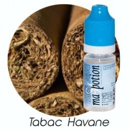 E liquide Français TABAC Havane, 0 6 12 18 mg/ml, recharge pour cigarette électronique