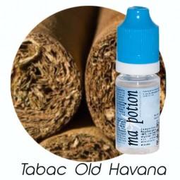 E liquide Français TABAC Old Havana, 0 6 12 18 mg/ml, recharge pour cigarette électronique