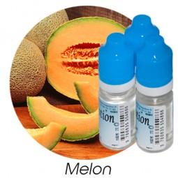 Lot de 3 E-Liquide Fruit Melon, Eliquide Français Ma Potion, recharge liquide cigarette électronique. Sans nicotine ni tabac