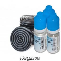 Lot de 3 E-Liquide Réglisse, Eliquide Français Ma Potion, recharge liquide cigarette électronique. Sans nicotine ni tabac
