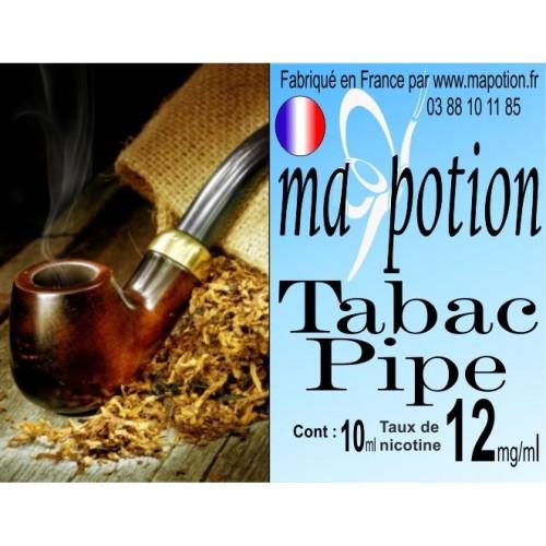 E-Liquide TABAC Pipe, Eliquide Français, recharge liquide pour cigarette électronique, Ecig