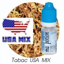 E-Liquide TABAC USA MIX, Eliquide Français, recharge liquide pour cigarette électronique, Ecig