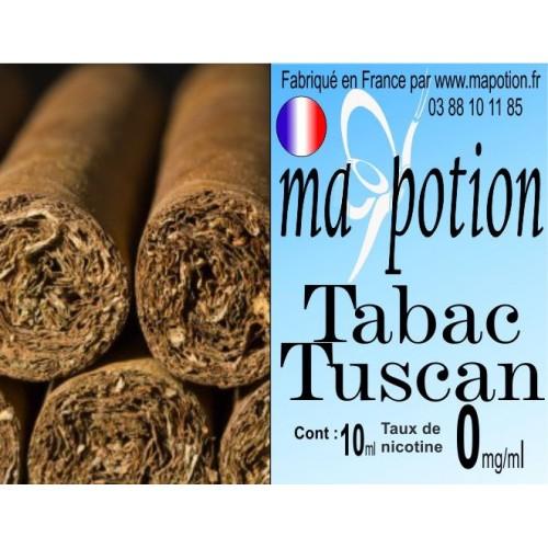 E-Liquide TABAC Tuscan, Eliquide Français, recharge liquide pour cigarette électronique, Ecig