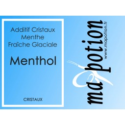 Additif MENTHOL en Cristaux 100% naturel, pour Eliquide DIY