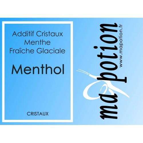 Additif MENTHOL en Cristaux 100% naturel, pour Eliquide DIY