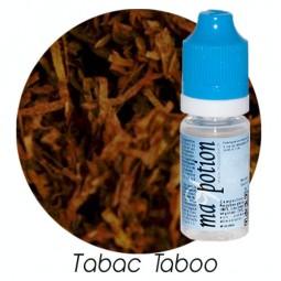E-Liquide TABAC TABOO, Eliquide Français, recharge liquide pour cigarette électronique, Ecig