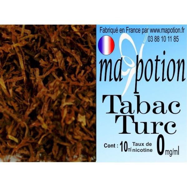 E-Liquide TABAC Turc, Eliquide Français, recharge liquide pour cigarette électronique, Ecig