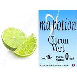 E-Liquide Fruit Citron VERT, Eliquide Français, recharge liquide pour cigarette électronique, Ecig