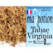 E-Liquide TABAC Virginia, Eliquide Français, recharge liquide pour cigarette électronique, Ecig