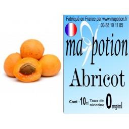 E-Liquide Fruit Abricot, Eliquide Français, recharge liquide pour cigarette électronique, Ecig