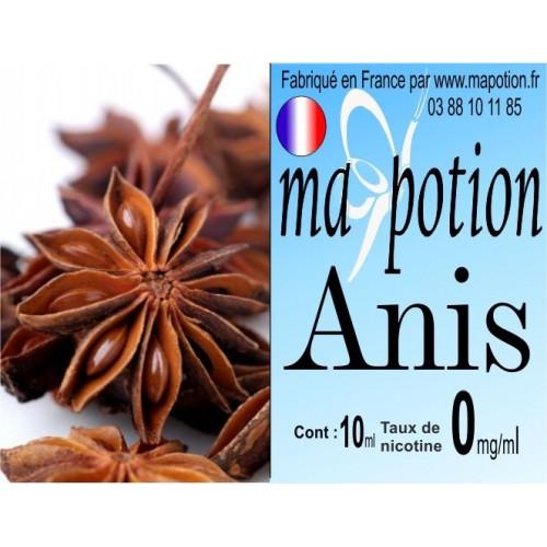 E-Liquide Fruit Anis, Eliquide Français, recharge liquide pour cigarette électronique, Ecig