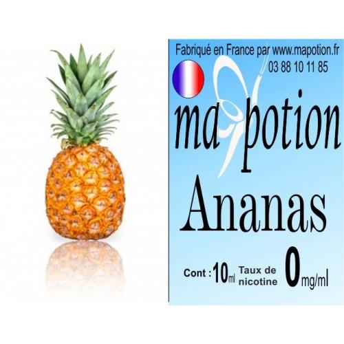 E-Liquide Fruit Ananas, Eliquide Français, recharge liquide pour cigarette électronique, Ecig
