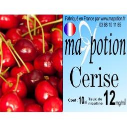 E-Liquide Fruit Cerise, Eliquide Français, recharge liquide pour cigarette électronique, Ecig