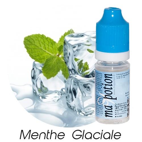 E-Liquide Saveur Menthe Glaciale, Eliquide Français, recharge liquide pour cigarette électronique, Ecig