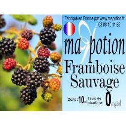 E-Liquide Fruit Framboise Sauvage, Eliquide Français, recharge liquide pour cigarette électronique, Ecig